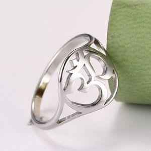 Stainless Steel Om Ring